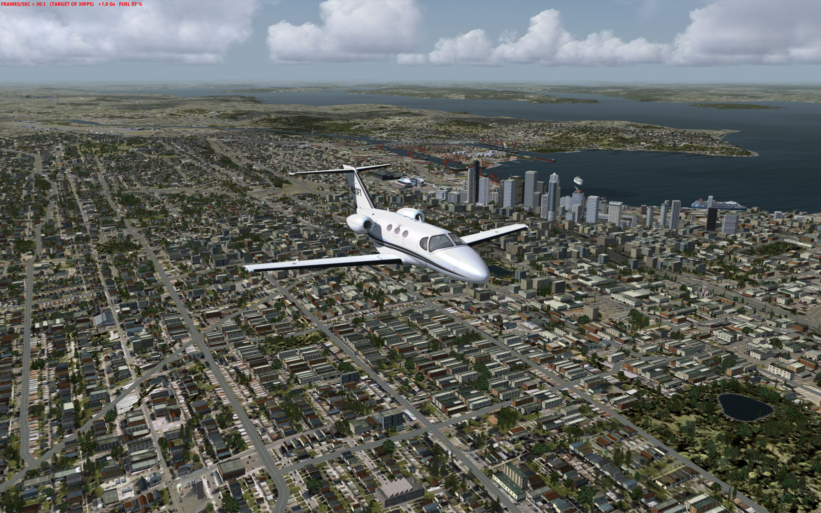 Flight1 - Cessna Citation Mustang for P3D v3 chegando... 2016-3-5_18-33-35-927